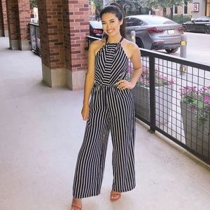 Striped jumpsuit ✨